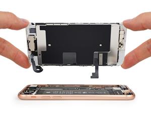iPhone 8 kijelző csere